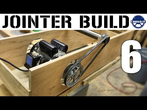 I'm Building A Jointer! - Dropping In The Motor