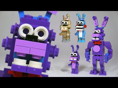 How to Build LEGO Bonnie (Toy, Withered & Springtrap)   LEGO FNAF