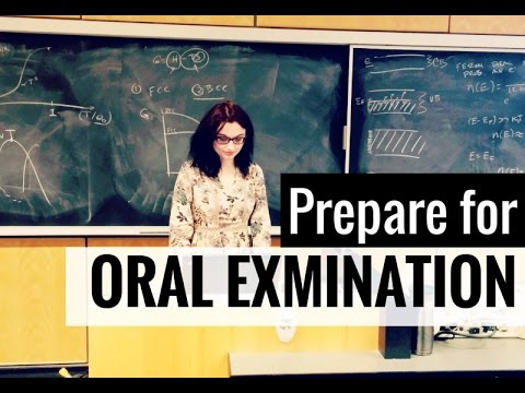 How to Prepare for an Oral Exam // Oral Examination Tips & Tricks