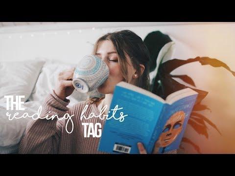 MY READING HABITS TAG 2017! :)