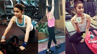 Alia Bhatt Complete Workout Session