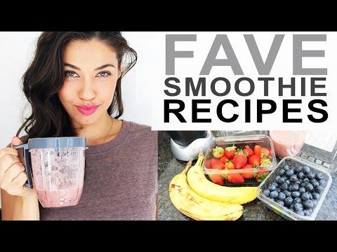 EASY SMOOTHIE RECIPES - Vegan & Healthy | Eman