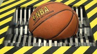 EXPERIMENT Shredding BASKETBALL and Toys