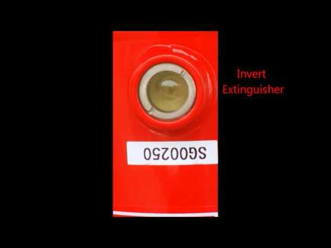 Window extinguisher part 2 : owner yearly inspection certified by manufacturer