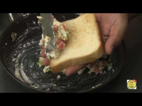 Cheese Chilli Toast - By VahChef @ VahRehVah.com