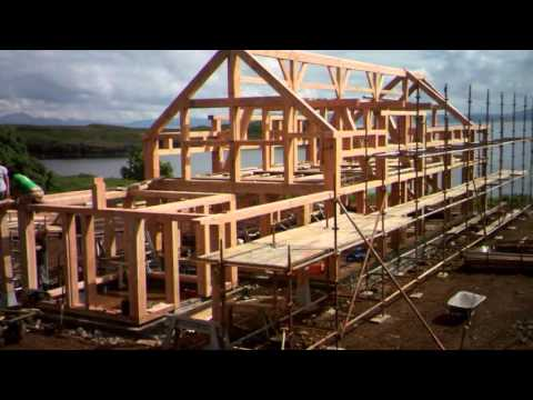 Studio Hardie Diaries- Building a timber frame farmhouse