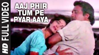 Aaj Phir Tum Pe Pyar Aaya Full HD Song   Dayavan   Vinod Khanna, Madhuri Dixit
