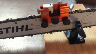 How To Sharpen A Chainsaw Timberline Chain Sharpener