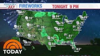 Fourth Of July Weather: Which Areas See Rain In The Forecast? | TODAY