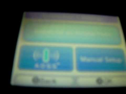 How to connect to Nintendo Wi-Fi for Pokemon on the DS.