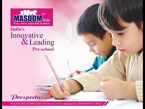 Masoom Kids Pre School Prospectus