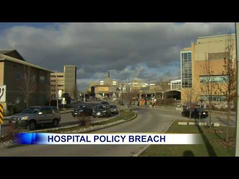Video: Hospital policy breach raises question of privacy