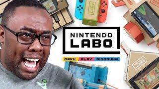 NINTENDO LABO & Wii U Ports on Nintendo Switch - Black Nerd RANTS
