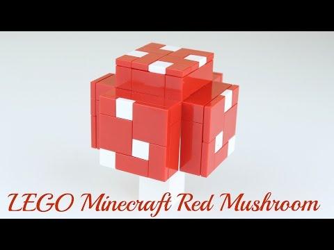 How to Build: LEGO Minecraft Red Mushroom