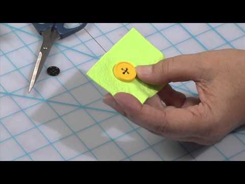 Momma Knows Best - How To Sew A Button