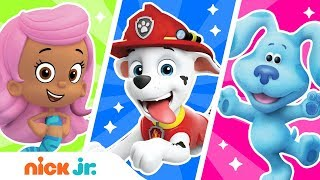 Match the Colors! 🌈 Ep. 3 Find Colors for PAW Patrol, Blue's Clues & Bubble Guppies | Nick Jr.