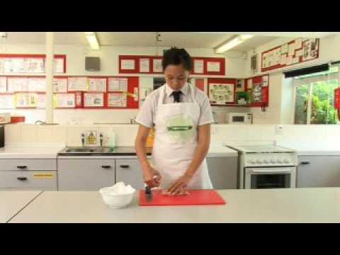 Preparing chicken