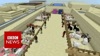 School uses Minecraft to teach history - BBC News