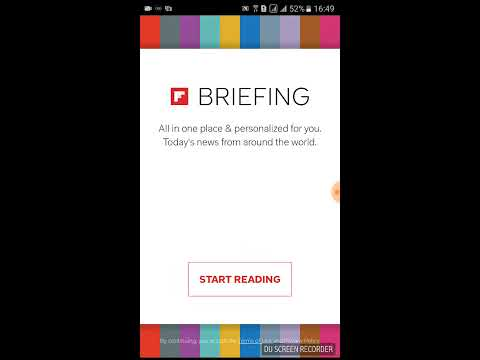 How to remove and disable briefing from samsung smartphone