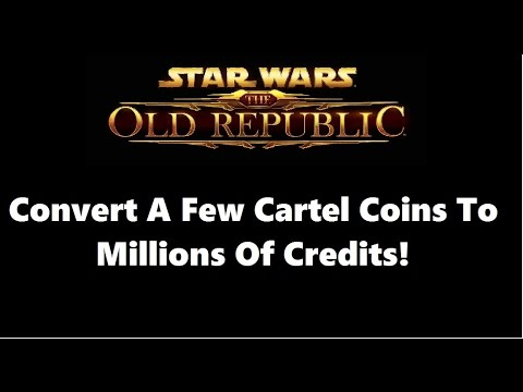 SWTOR: The Best Way To Convert Cartel Coins To Credits Patch 5.0