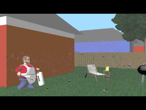 Keep Mosquitoes Out of Your Yard for a Month and Longer with Natural Garlic Spray Mosquito Barrier