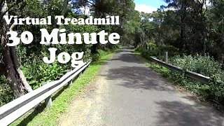 Virtual Treadmill 30 Minute Jog Mount Kembla Ring Track Nsw Australia