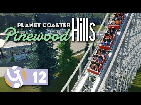 🌲 Wooden Coaster | Pinewood Hills | Let's Play Planet Coaster #12