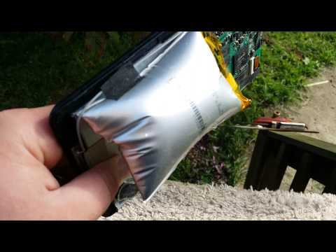 RCA Android 7 inch tablet  walmart explodes!