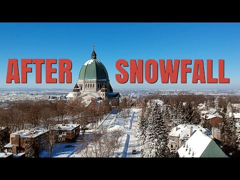 AFTER SNOWFALL IN MONTREAL