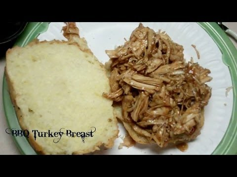 TURKEY BREAST IN SLOW COOKER WITH BBQ SAUCE
