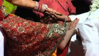Mass marriage of physically challenged couples held in India's western city