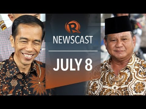 Rappler Newscast: Jokowi slim lead, musicians support, bishops on medical marijuana
