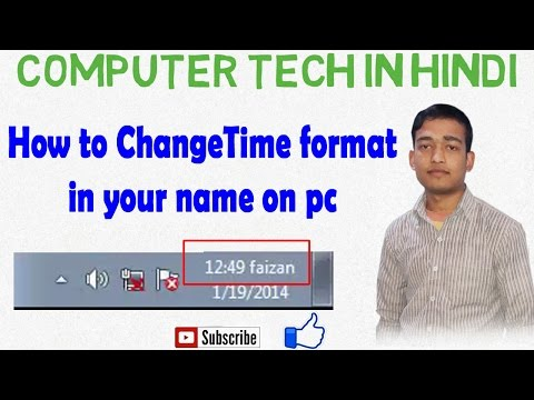 How to change date and time format am to name pm to name change format