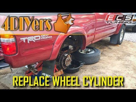 DIY: Toyota Tacoma 1995-2004 Brake Wheel Cylinder Replacement