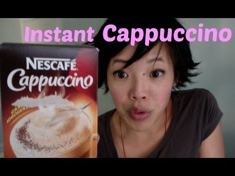 Drinking Nescafé Instant Cappuccino - Thirsty? #9