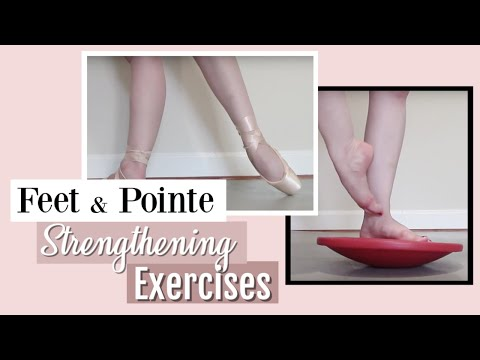 Feet & Pointe Strengthening Exercises | Kathryn Morgan