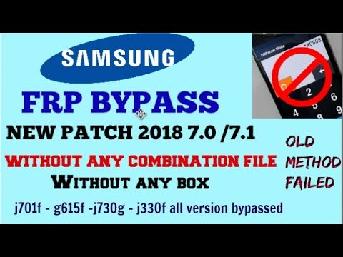 Download Samsung frp lock bypass latest patch,without any