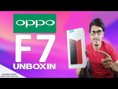 Oppo F7 Unboxing and Review