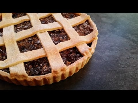 Mincemeat Tart - Basically, it's a large mince pie and easy to make!