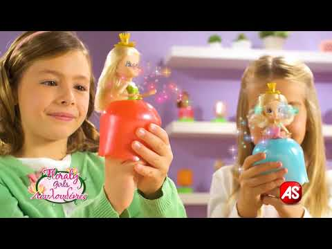 Florally Girls-Λουλουδένιες κούκλες στο www.toys-shop.gr