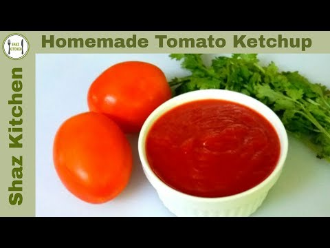 Tomato Ketchup/Homemade_Ramadan Special Recipe(In Urdu/Hindi)How To Make Sweet&Tangy Ketchup At Home