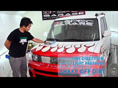 Washboi™ Waterless Car Wash (Official Video Demo) HD