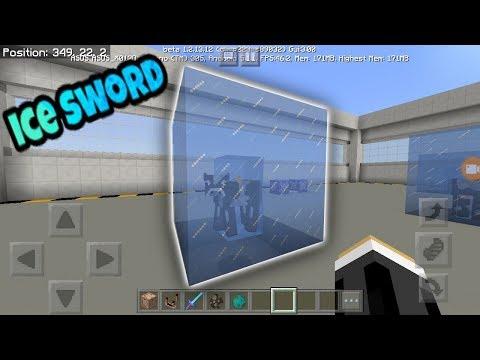 Minecraft PE: Working Ice Sword Tutorial
