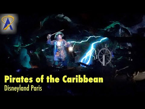 Pirates of the Caribbean 2018 POV at Disneyland Paris