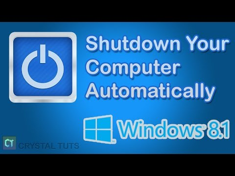 How To Make Computer Shutdown Automatically in Windows 8.1 [No Software Needed]