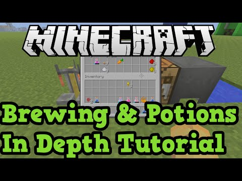 Minecraft Xbox One + PS4: Brewing Potions In Depth Tutorial