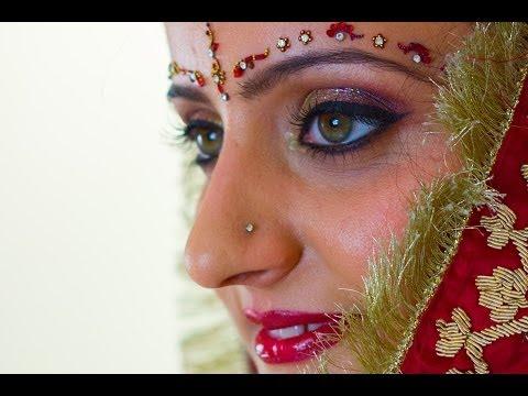 Prosto z Indii: makijaż dla panny młodej - tutorial