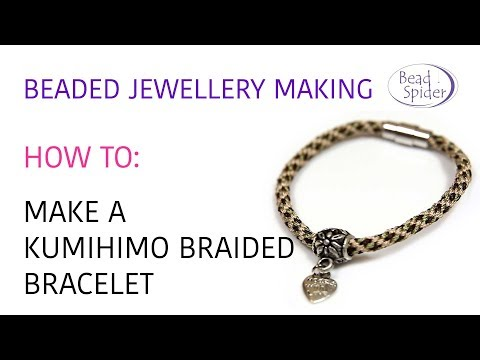 How To Make A Kumihimo Braided Necklace Or Bracelet