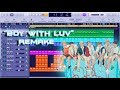 BTS - Boy With Luv feat. Halsey Instrumental Remake (Production Tutorial) Mp3