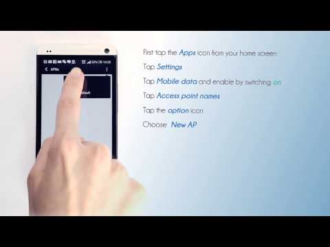 Lycamobile Ireland - Mobile Data Setting for your HTC